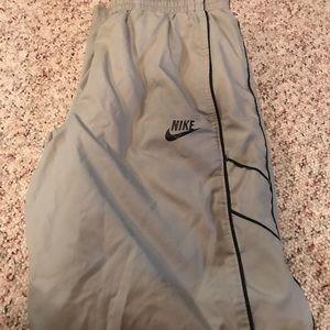 Men's Gray Nike Jogging Pants